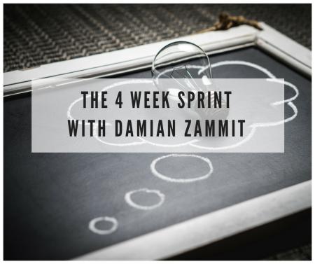 THE 4 WEEK SPRINT
