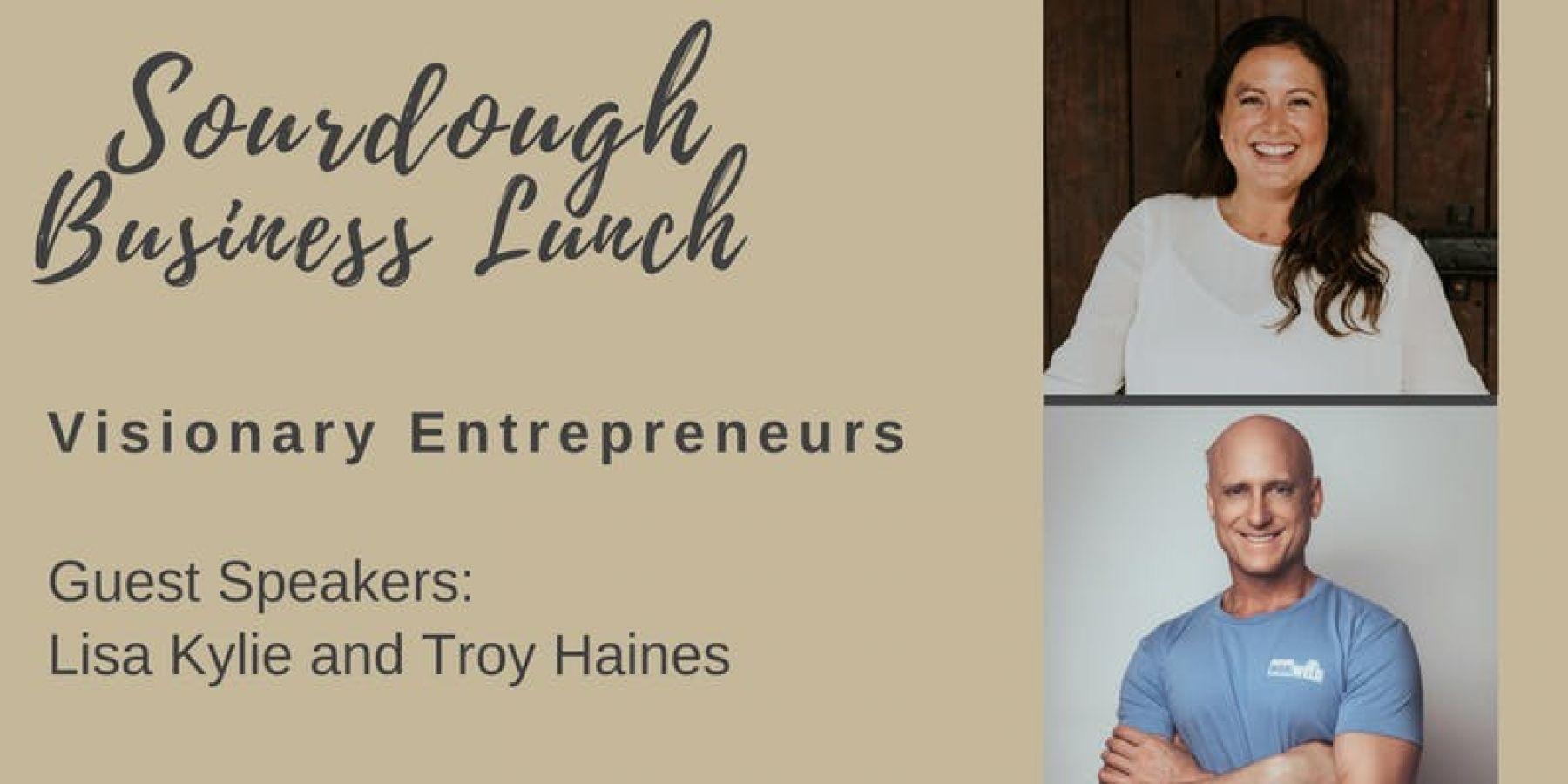 Sourdough Business Lunch - Speaker Series