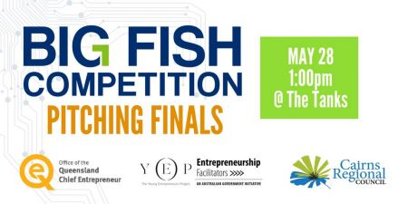 Big Fish Competition - Pitching Finals